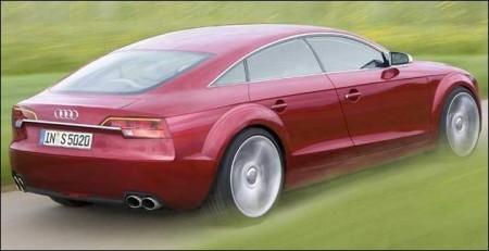 La future Audi A7