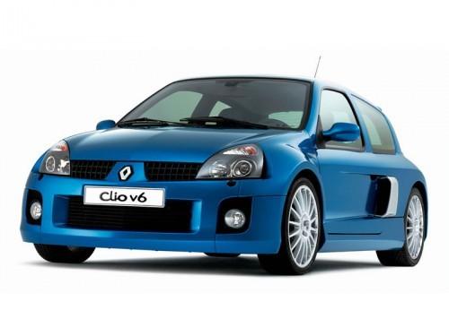 Photographie officielle de la Renault Clio V6.