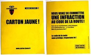 carton-jaune-police-paris