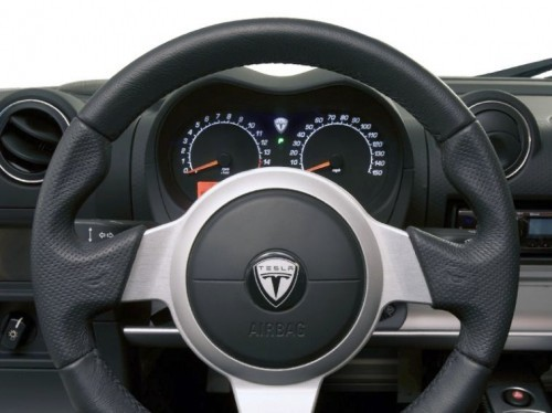 Tesla Roadster : intérieur