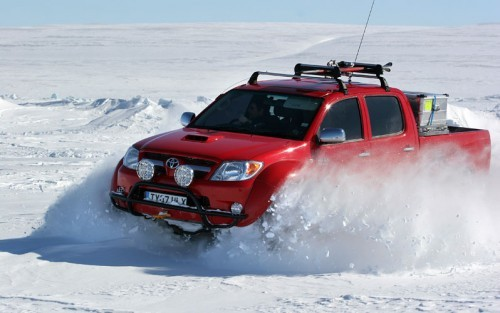 Top Gear Polar Special : la première voiture au P?le Nord