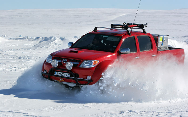 Top Gear Polar Special : une virée au Pole Nord en Toyota Hilux
