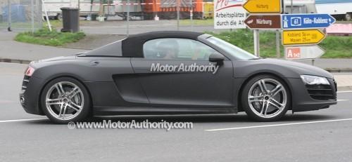 Premières photos de l\'Audi R8 Spyder