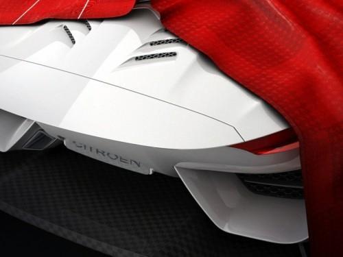 Arrière de la Citroën GT Concept