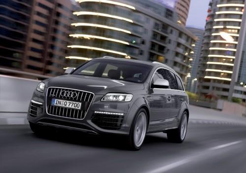 Audi Q7 V12 TDi - Vue avant