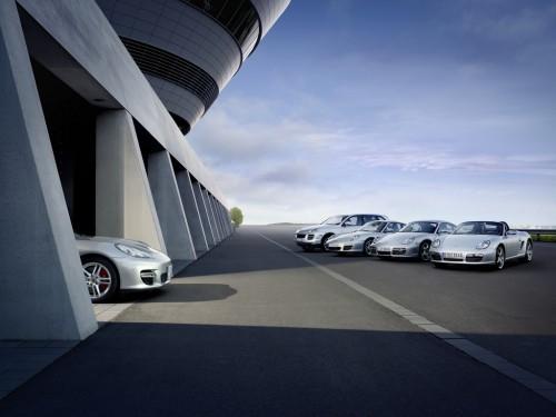 Image du teasing pour la Porsche Panamera