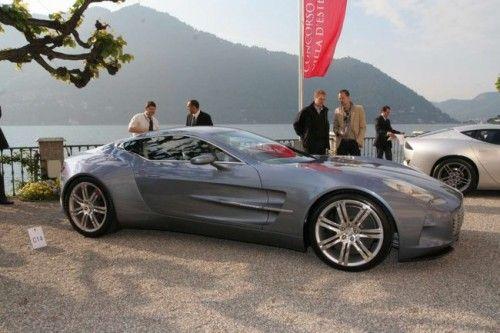 Aston Martin One-77 à la Villa d'Este