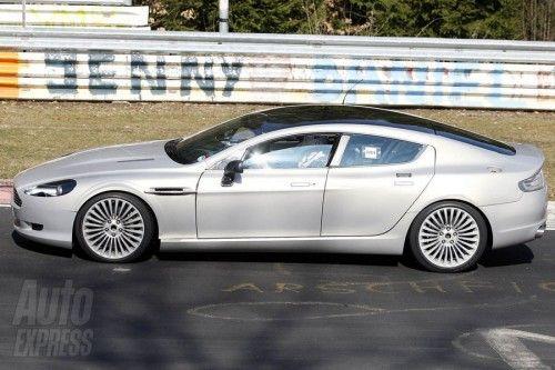 Aston Martin Rapide - Proto - Côtés