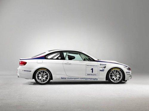 BMW M3 GT4 - vue de côté