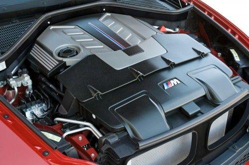 BMW X6 M - Le moteur