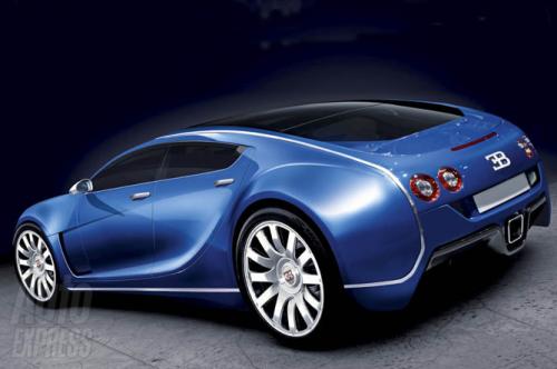 Bugatti Royale - Arrière