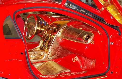 Mercedes-Benz SLR McLaren 999 Red Gold Dream - Intérieur
