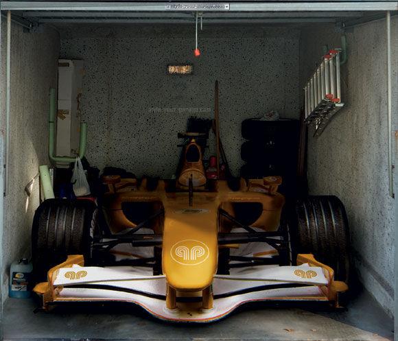 Poster box de garage F1
