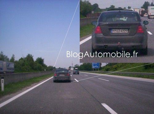 Spyshot Série 3 BMW