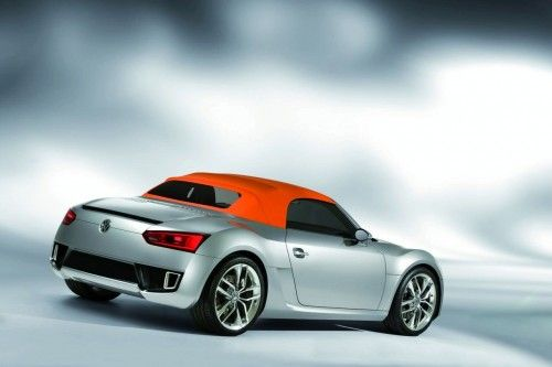 vw roadster bluesport with top