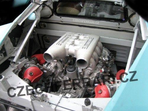 f 450 engine spyshot