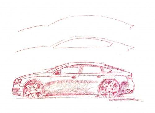 Audi A5 Sportback - Sketch