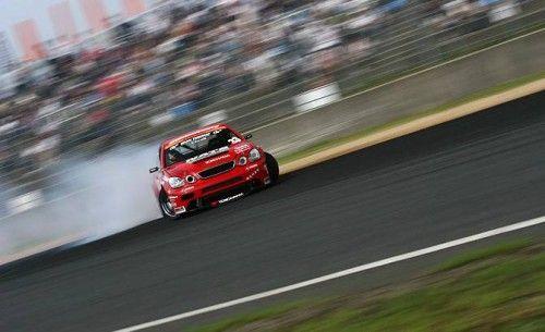 Lexus in drift