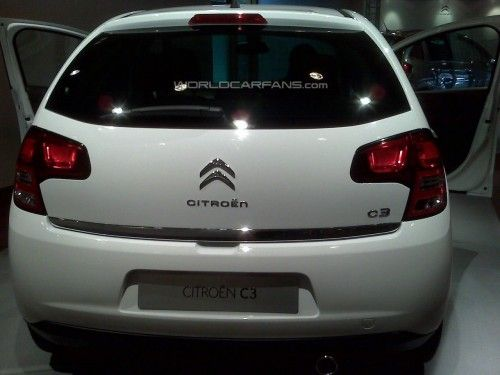 citroën C3 back