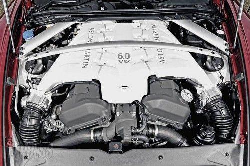 aston martin DBS engine