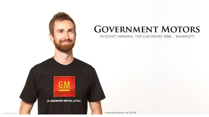 Government Motors un beau tshirt !