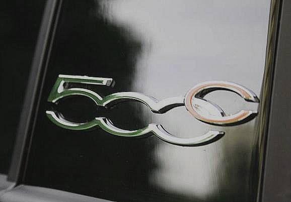 fiat-500C à l'Open Lounge Milano