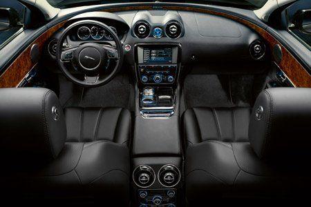 intérieur de la nouvelle jaguar XJ