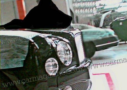 BentleyArnage2010spyphoto