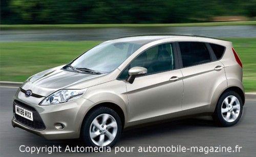 Ford Fusion ou B-max 2011