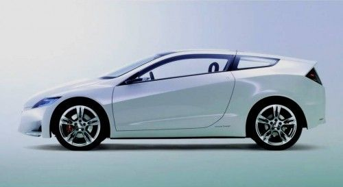 Honda crz lateral