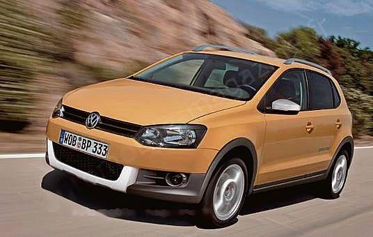 VW CrossPolo 2010 Preview