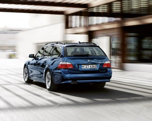 bmw serie5 touring back