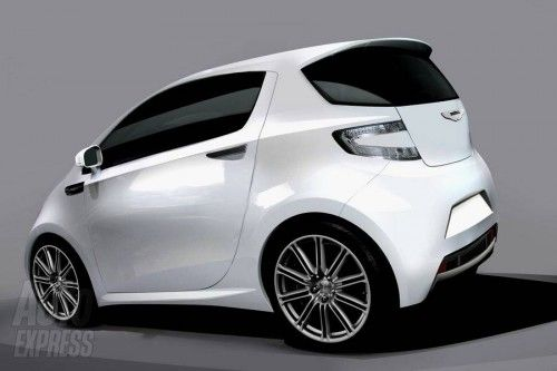 Aston Martin Cygnet preview 2010 rear