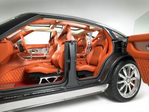 spyker d8 interior