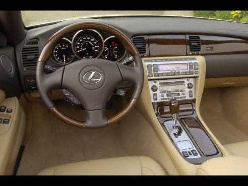 2009-Lexus-SC-430-Dashboard