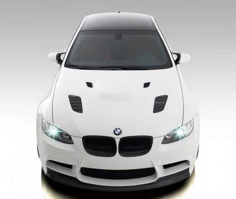 2009-Vorsteiner-GTS3-BMW-M3-Front-Top