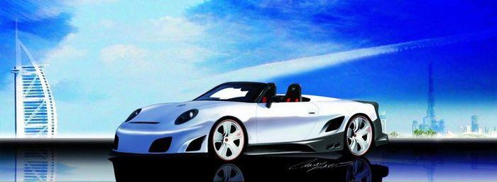 9ff-GT9 R convertible