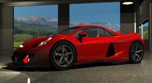 Concept Alpine A415