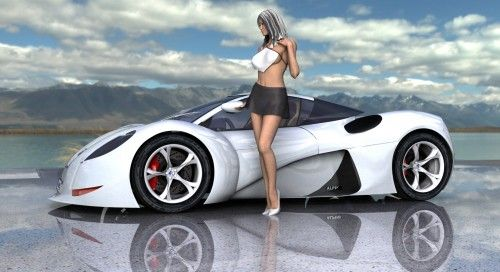 Concept Alpine A510