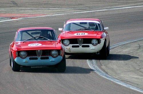 Alfa Giulia GTA Sprint en bagarre