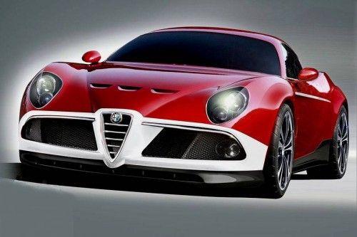 Alfa roméo 8C GTA 2010 front