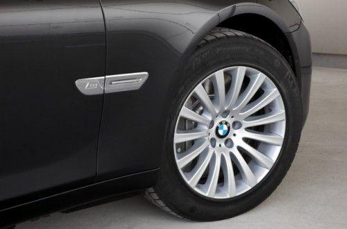 BMW Série 7 High Security 2009 - Pneus