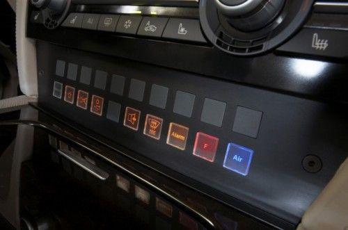 BMW Série 7 High Security 2009 - boutons