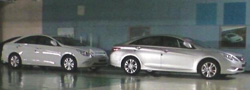 Hyundai Sonata ou i40 modèle 2011