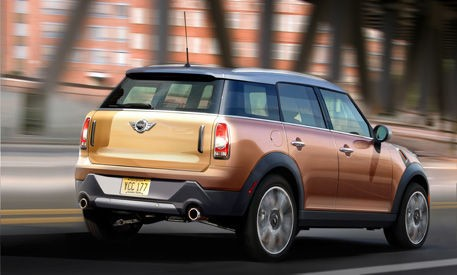 Mini Countryman 2010 Back