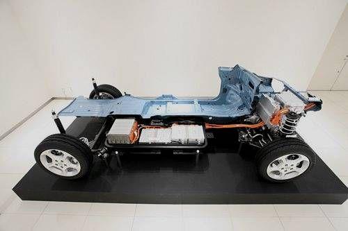 Plateforme SubFrame Nissan Leaf