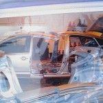 Prius limousine, une photo de la construction