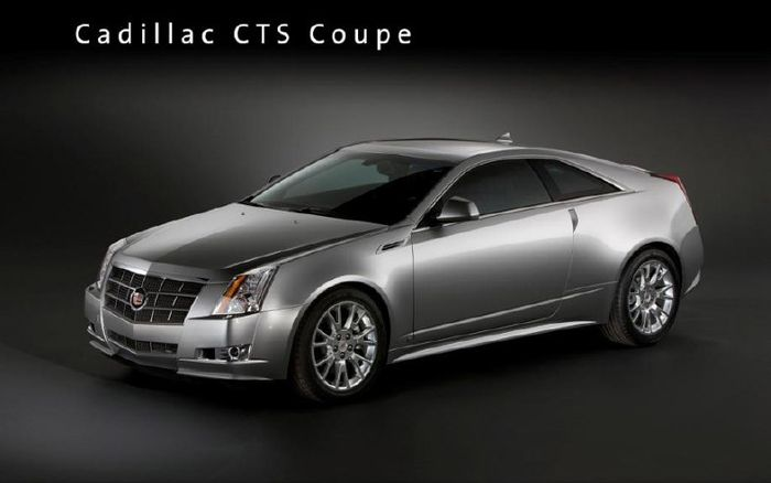 cadillac cts coupe firs tlook 2010