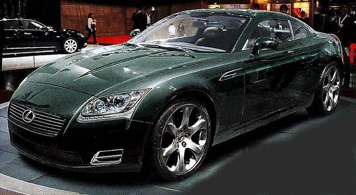 lexus SC450h preview 2011-2012