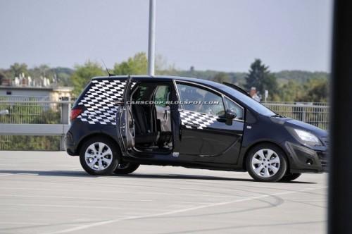 L'Opel Mériva 2010 vous ouvre ses portes
